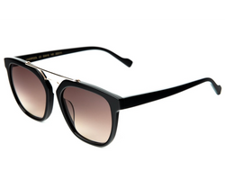 Illesteva Liverpool Sunglasses In Black/Brown