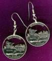 Minnesota Quarter Earrings