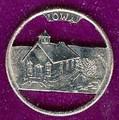 Iowa Quarter  Cut Out, Pendant, or KeyRing