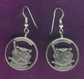 Tennessee Quarter Earrings