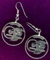 Indiana Quarter Earrings