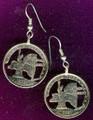 New York Quarter Earrings