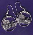 Kentucky Quarter Earrings