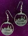 Virginia Quarter Earrings