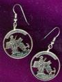 Massachusetts Quarter Earrings