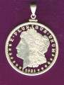 Morgan Dollar Complete Detail Pendant