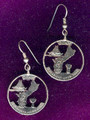 Guam Quarter Earrings