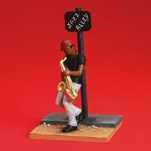 Jazz Alley  Figurine - Annie Lee