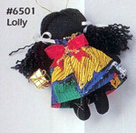 Lolly - Holly Dolly Cloth Ornament - Annie Lee