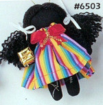 Molly - Holly Dolly Cloth Ornament - Annie Lee