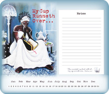 My Cup Runneth Over Memo Mouse Pad--Annie Lee