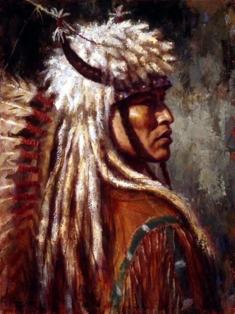 Commanding Presence, Blackfoot, Oil on Canvas, 2006