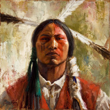 Undaunted Cheyenne Brave