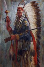 The Chief's New Gun