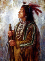 Crow War Leader