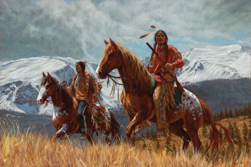 Looking for Buffalo, Watching for Enemies – Cheyenne Warriors
