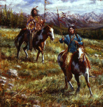 Impressive Splendor, Lakota giclee, by James Ayers