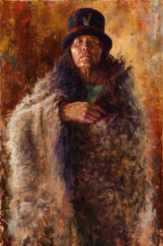 Spirit-of-the-Wise-Man-Shoshone-Painting-Native-American-James-Ayers