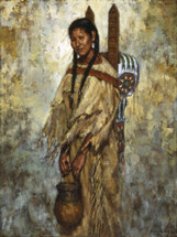 Kiowa Cradleboard