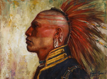 Pride of the Pawnee, Pawnee giclee by James Ayers