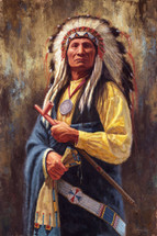 Mahpiya Lutu - Red Cloud - Lakota