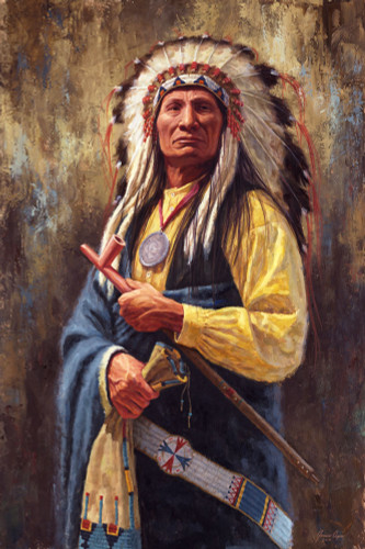 Mahpiya Lutu - Red Cloud - Lakota