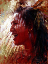 War Cry, Crow Warrior, James Ayers Studio