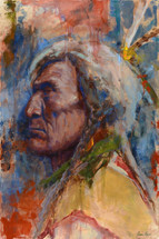 Emanating Wisdom - Painting by James Ayers