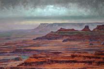 Canyon Lands - James Ayers Painting