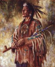 Nobility of Mind - Crow warrior