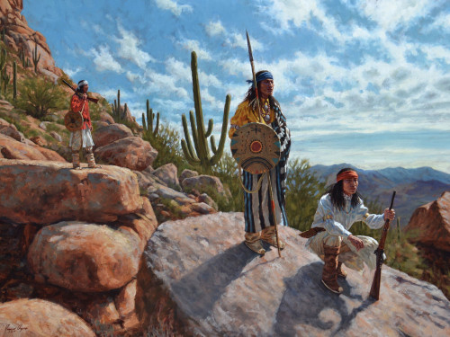 Sentinels of the Sonoran Desert – Apache