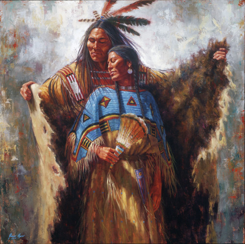 Two Souls, One Spirit - Lakota