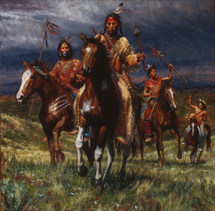 War Party Rides – Lakota
