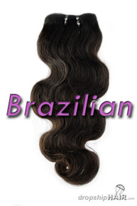 Brazilian Virgin Double Drawn Royal Hair Weft
