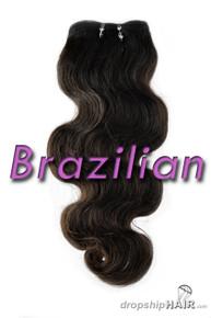 SAMPLE Brazilian Virgin Double Drawn Royal Hair Weft