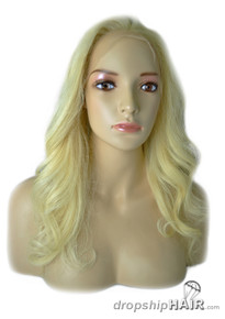 "Lace Front Wig - Brazilian Virgin Remi 14"" - Body Wave"