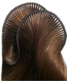 Textured Straight - Super Thin Hand-Tied Weft