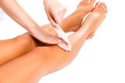 Service: Full Leg Wax