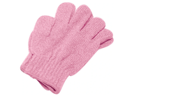Copy of  Exfoliating Massage Gloves - Pink