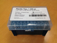 Pipette Tip Coag-Sense 1 to 200 µL Without Graduations NonSterile 03P54-02 Case/10 - 35022400