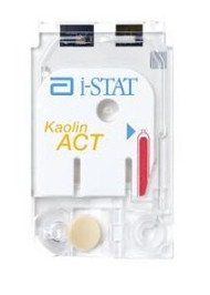 Cartridge, Coagulation iSTAT Kaolin ACT Kaolin ACT For i-STAT Handheldl Blood Analyzer 03P8725 Box/25
