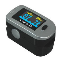 Finger Pulse Oximeter View SpO2 Battery Operated MQ3200 Each/1