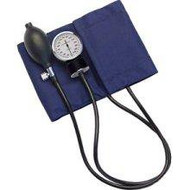 Aneroid Sphygmomanometer Superior Pocket Style Hand Held 2-Tube Newborn Infant Child Adult Large Adult Thigh 175 Each/1