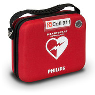 Carrying Case Red OnSite Defibrillator M5076A Each/1