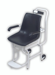 Chair Scale Detecto Digital 400 X 0.2 lbs. White with Black Chair Batteries 6475 Each/1 - 64753700