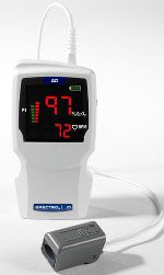 Handheld Pulse Oximeter Spectro 2 | 10 AC Power / Battery Operated Without Alarm WW1000EN Each/1