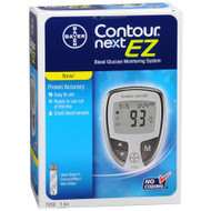 Blood Glucose Meter Contour 5 Seconds Stores Up To 480 Results, 14-Day Averaging No Coding 7252 Case/4
