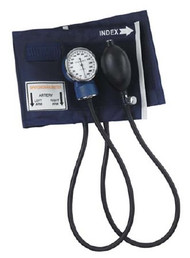 Aneroid Sphygmomanometer Mabis Pocket Style Hand Held 2-Tube Large Adult Arm 09-149-016 Each/1