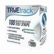 Blood Glucose Test Strips TRUEtrack 100 Test Strips per Box A3H01-80 Box/100