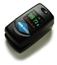 Finger Pulse Oximeter DigiO2 Battery Operated Audible and Visual Alarm JB02007 Each/1